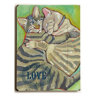 Kitty Cuddle - Cat Art with Beautiful Cats