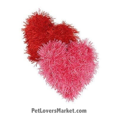 Oomaloo Heart: squeaky dog toy & handmade dog toys.
