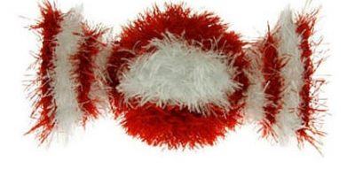 Oomaloo Peppermint: squeaky dog toy & handmade dog toys.