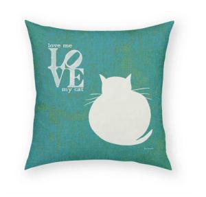 Love Pillow: Cat Decor for Cat Lovers