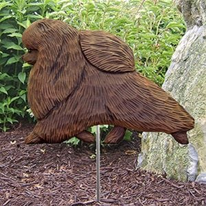 Pomeranian Statue: Dog Statues & Garden Statues