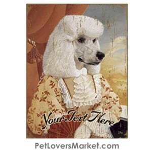 Poodle Art - Personalized Dog Gifts & Gifts for Dog Lovers