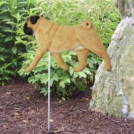 Pug Statue. Dog Statues and Garden Statues