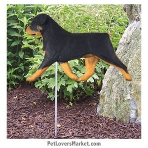 Rottweiler Statue: Dog Statues and Garden Statues