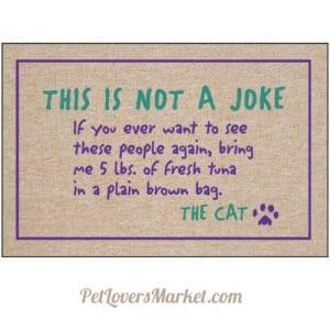 Cat Mat for Cat Lovers