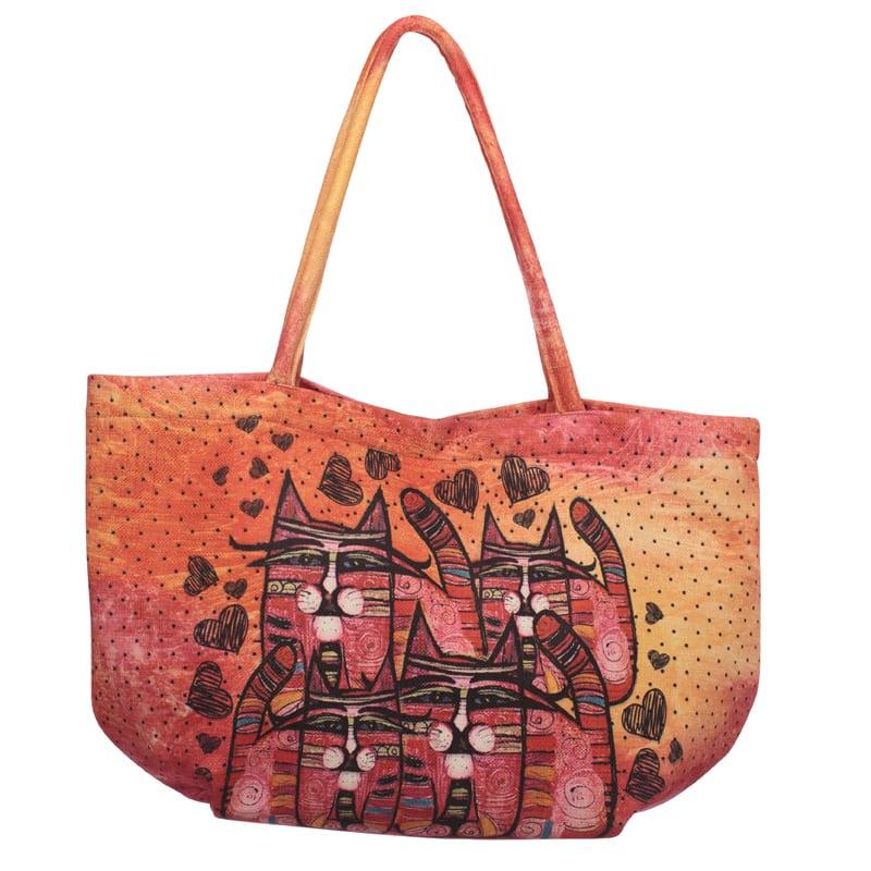Totes by Albena - Love is Everywhere Bubble Bag / Handbag