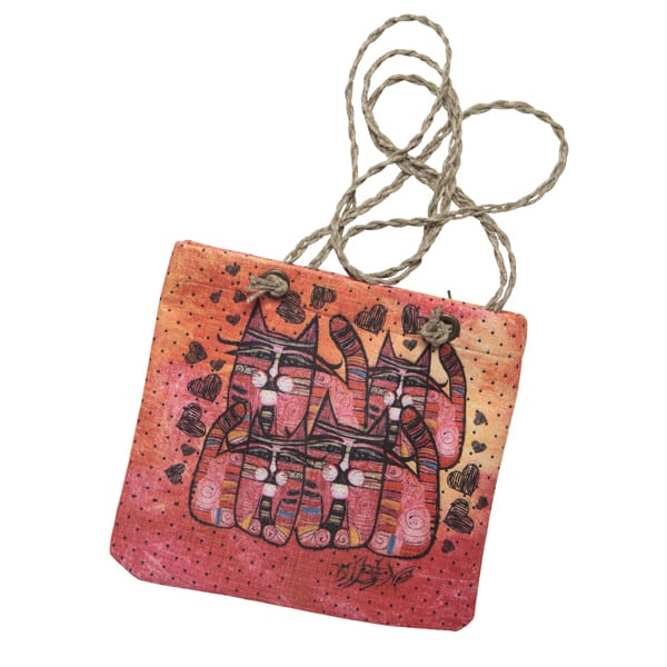 Totes by Albena - Love is Everywhere Crossbody Bag (Gifts for Cat Lovers)