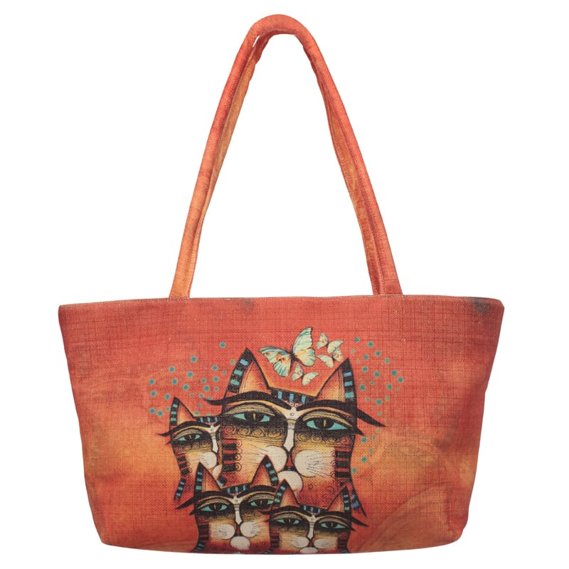 Totes - Making A Difference Square Handbag by Albena