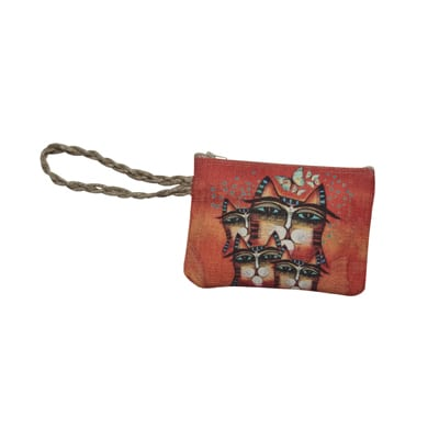 Totes - Making A Difference Wristlet Purse by Albena (Gifts for Cat Lovers)
