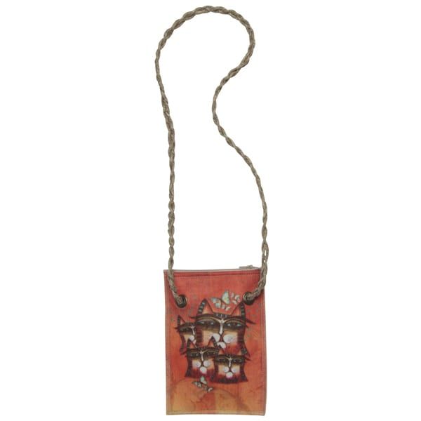 Totes - Making a Difference Neck Wallet by Albena (Gifts for Cat Lovers)