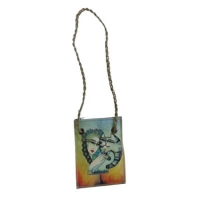 Tenderness Cat Tote by Albena (Neck Wallet)