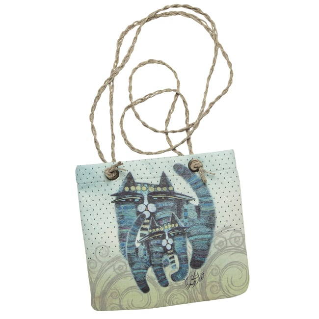 Together Forever Cat Tote by Albena (Crossbody Bag) - Totes and Gifts for Cat Lovers