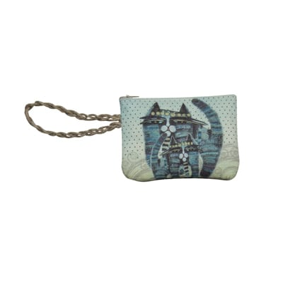 Together Forever Cat Totes - Wristlet Purse by Albena (Totes and Gifts for Cat Lovers)