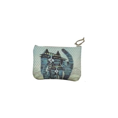 Together Forever Cat Totes - Cosmetic / Coin Purse by Albena - Gifts for Cat Lovers