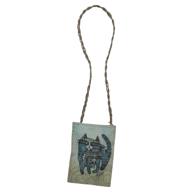 Together Forever Cat Tote by Albena (Neck Wallet) - Totes & Gifts for Cat Lovers
