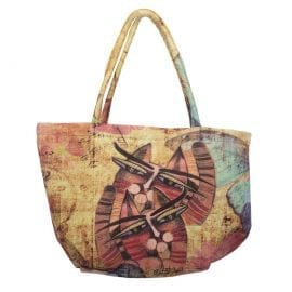 Totes by Albena - Unique Tote for Cat Lovers (Bubble Bag)