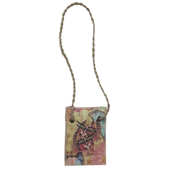 Totes by Albena - Unique Neck Wallet / Purse for Cat Lovers