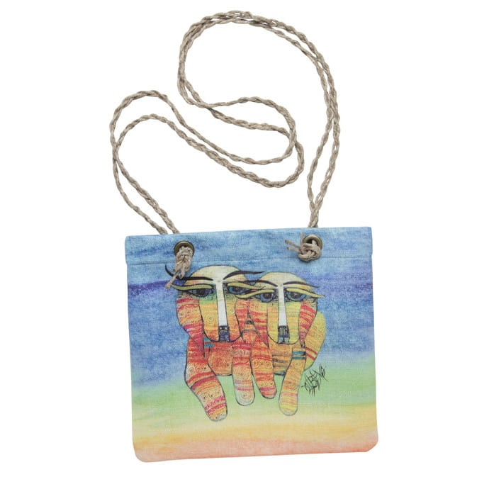 Dog Totes for Dog Lovers - Crossbody Handbag with Dog Art by Albena
