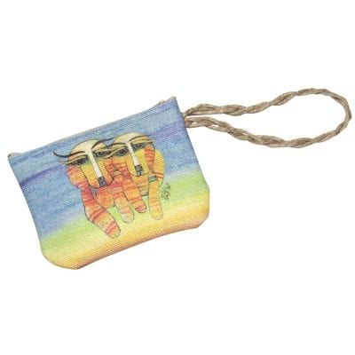 Dog Totes for Dog Lovers - Wristlet Purse with Dog Art by Albena