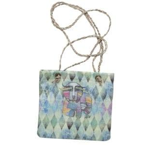 Totes for Dog Lovers - Crossbody Handbag with Dog Art by Albena