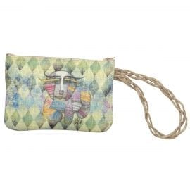 Totes for Dog Lovers - Wristlet Purse with Dog Art by Albena