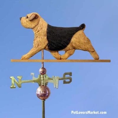 Weathervanes: Norfolk Terrier Dog Weathervane for Roof and Garden Decor. Weathervane made in USA. Gifts for Dog Lovers. Michael Park Woodcarver.